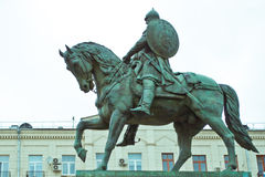 Yury Dolgoruky Monument. In Moscow Stock Photography