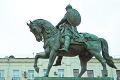 Yury Dolgoruky Monument Stock Photography