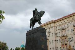 Yury Dolgoruky sculpture Royalty Free Stock Photo