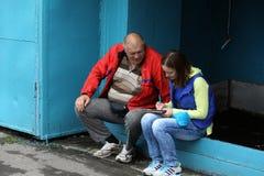 Yury DUMCHEV - ο ρωσικός αθλητής και ο δράστης Στοκ Εικόνες