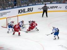 Yury Koksharov (27) fall down Royalty Free Stock Image