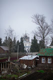 Yuryev-Polsky. Is an old town and the administrative center of  District of Vladimir Oblast, Russia royalty free stock images