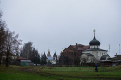Yuryev-Polsky. Is an old town and the administrative center of  District of Vladimir Oblast, Russia stock photography