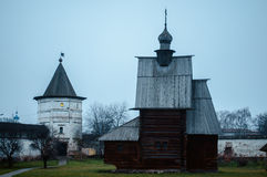 Yuryev-Polsky. Is an old town and the administrative center of  District of Vladimir Oblast, Russia stock image