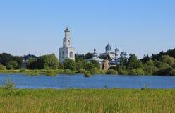Yuryevo, Veliky Novgorod, Rússia Fotografia de Stock Royalty Free