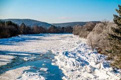 Yuryuzan-Fluss Lizenzfreie Stockfotos