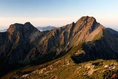 yushan asia östligt högst berg mt Royaltyfria Foton