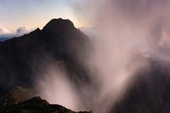Yushan Main Peak royalty free stock photography