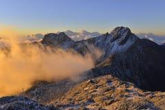 Yushan national park eastasia taiwan. Yushan national park. Taiwan highest mountain stock photography