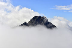 Yushan national park. Mt. jady main peak Royalty Free Stock Image