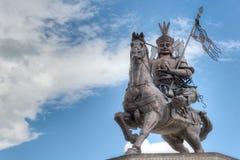 YUSHU (JYEKUNDO), ΚΊΝΑ - 12 Ιουλίου 2014: Άγαλμα Gesar βασιλιάδων ένα famou Στοκ Φωτογραφία