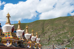 YUSHU (JYEKUNDO), ΚΊΝΑ - 12 Ιουλίου 2014: Ναός Mani (Mani Shicheng) Στοκ Φωτογραφίες