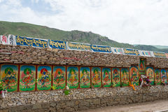 YUSHU (JYEKUNDO), ΚΊΝΑ - 13 Ιουλίου 2014: Ναός Mani (Mani Shicheng) Στοκ εικόνες με δικαίωμα ελεύθερης χρήσης