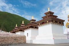 YUSHU (JYEKUNDO), ΚΊΝΑ - 13 Ιουλίου 2014: Ναός Mani (Mani Shicheng) Στοκ Εικόνες