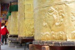 YUSHU (JYEKUNDO), ΚΊΝΑ - 13 Ιουλίου 2014: Ρόδα Mani, ναός Mani (μΑ Στοκ Φωτογραφίες
