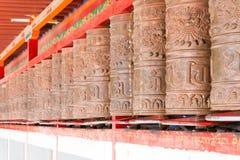 YUSHU (JYEKUNDO), ΚΊΝΑ - 13 Ιουλίου 2014: Ρόδα Mani, ναός Mani (μΑ Στοκ φωτογραφίες με δικαίωμα ελεύθερης χρήσης