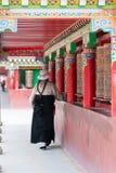 YUSHU (JYEKUNDO), ΚΊΝΑ - 13 Ιουλίου 2014: Ρόδα Mani, ναός Mani (μΑ Στοκ εικόνα με δικαίωμα ελεύθερης χρήσης