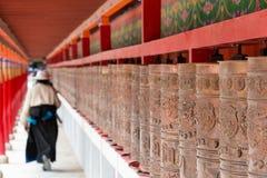 YUSHU (JYEKUNDO), ΚΊΝΑ - 13 Ιουλίου 2014: Ρόδα Mani, ναός Mani (μΑ Στοκ φωτογραφία με δικαίωμα ελεύθερης χρήσης