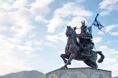 YUSHU(JYEKUNDO), CHINA - Jul 12 2014: King Gesar statue. a famou Royalty Free Stock Image