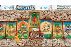 YUSHU(JYEKUNDO), CHINA - Jul 13 2014: Mani Temple(Mani Shicheng) Royalty Free Stock Images