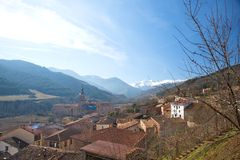 Yuso monastery at la rioja Stock Images