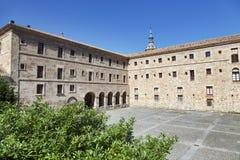 Yuso Monastery in San Millan de La Cogolla, La Rioja Royalty Free Stock Photo