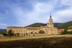 Yuso Monastery, San Millan de la Cogolla, La Rioja. View of the Yuso Monastery, San Millan de la Cogolla, La Rioja, Spain royalty free stock photo