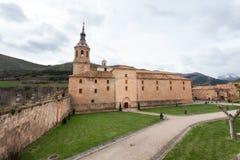 Yuso Monastery Royalty Free Stock Image