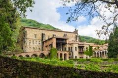 Yuste,埃斯特雷马杜拉,西班牙修道院  免版税库存照片