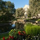 Yusupov garden in Saint-Petersburg Stock Images