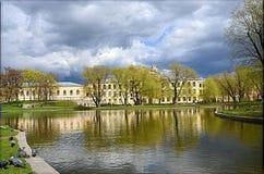 Yusupov ogród Obraz Royalty Free