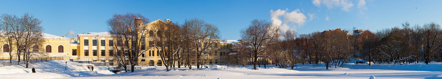 Yusupov ogród Zdjęcia Stock
