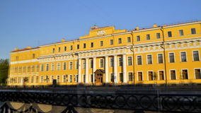 The Yusupov Palace, St. Petersburg. Russia stock footage