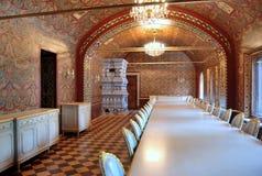 Yusupov Palast in Moskau. Refektorium. stockbilder