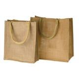 Yute Tote Bag Imagenes de archivo
