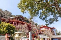 Yutoku Inari è un santuario shintoista nella città di Kashima, prefectur di saga Immagini Stock Libere da Diritti
