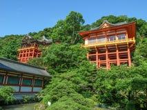 Yutoku Inari relikskrin royaltyfri bild