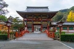 Yutoku Inari relikskrin, Japan Arkivfoto