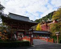 Yutoku Inari Shrine in Kashima city,Japan. Saga ,Japan NOV 27, 2015 Yutoku Inari Shrine is a Shinto shrine in Kashima city,Japan Royalty Free Stock Photo