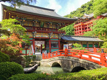 Yutoku inari shrine. In Saga, Japan. the front of shrine is so beautiful Stock Images
