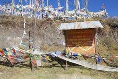Yutong La Pass, Bhutan Royalty Free Stock Photography