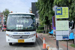 Yutong Mini Bus Royalty Free Stock Image