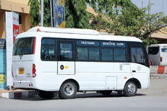 Yutong Mini Bus Royalty Free Stock Photography