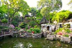 Yuyan garden in Shanghai Stock Photos