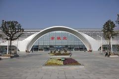 Yuyao norr järnvägsstation Royaltyfri Fotografi