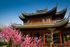 Yuyuan庭院 免版税库存图片
