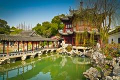 Yuyuan庭院 库存图片