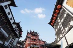 yuyuan的上海 免版税库存照片