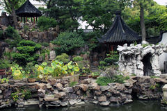 Yuyuan Garden. The fascinating Yuyuan Garden in Shanghai - hidden from the hustle and bustle of the city Stock Photography