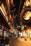 Yuyuan Garden At Night.Shanghai.China stock image
